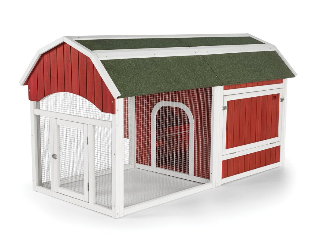 Red Barn Small Chicken Coop