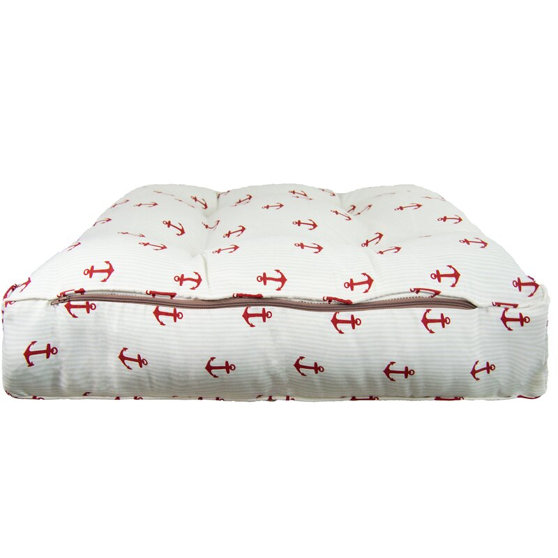 Sicilian Red Anchor Pillow