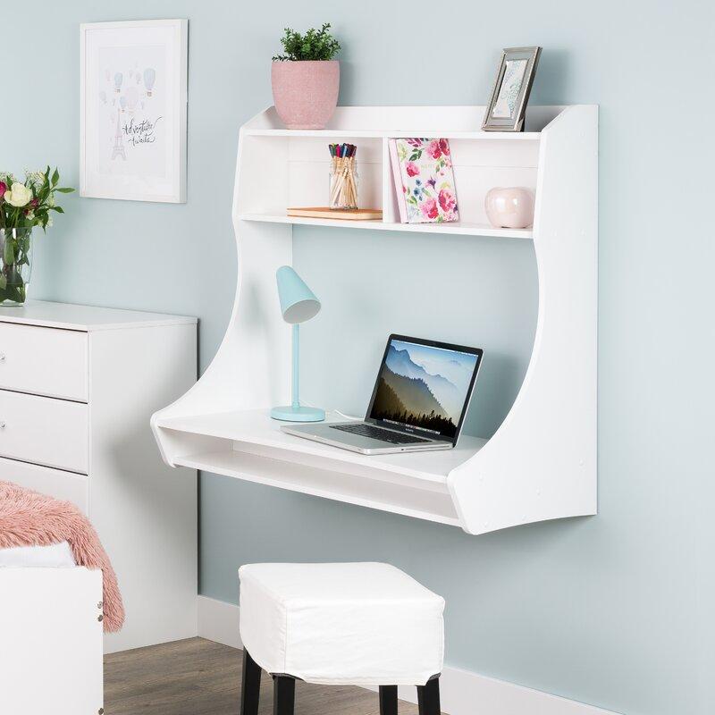Speicher Compact Hanging Rectangular Floating Desk