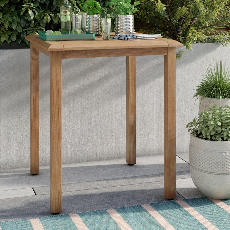 Elsmere Teak Bar Table