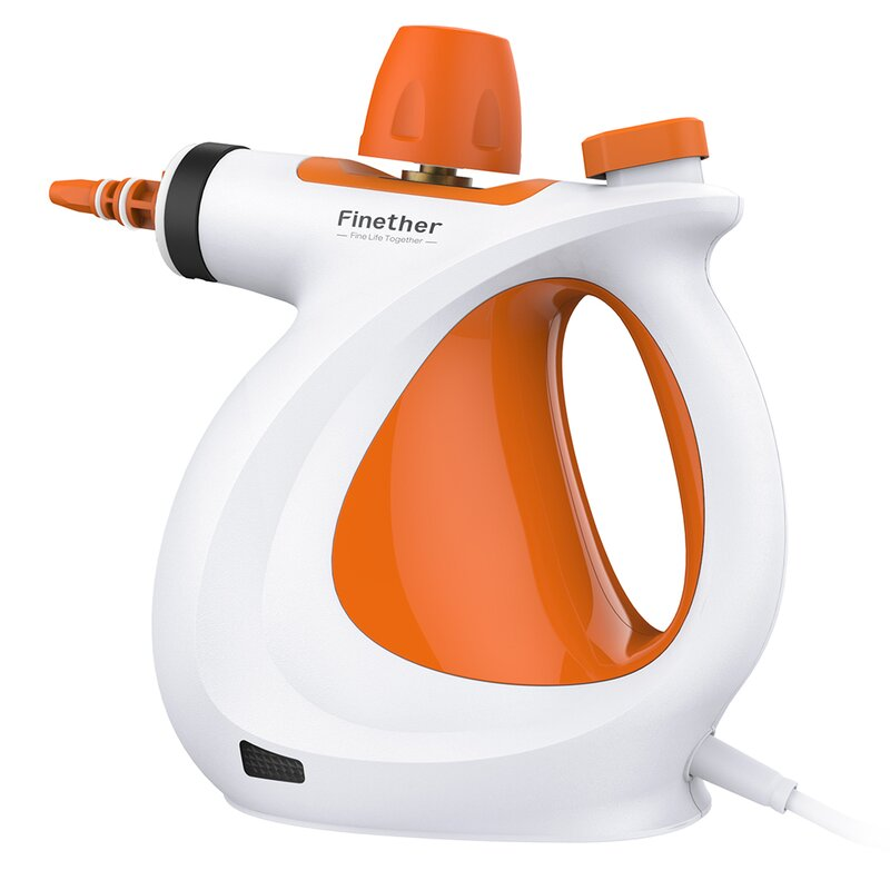 LANGRIA Vapor Steam All-in-One Sanitizer Chemical-Free Multi-Purpose Single Boiler Bagless Handheld Vacuum with Extension Hose