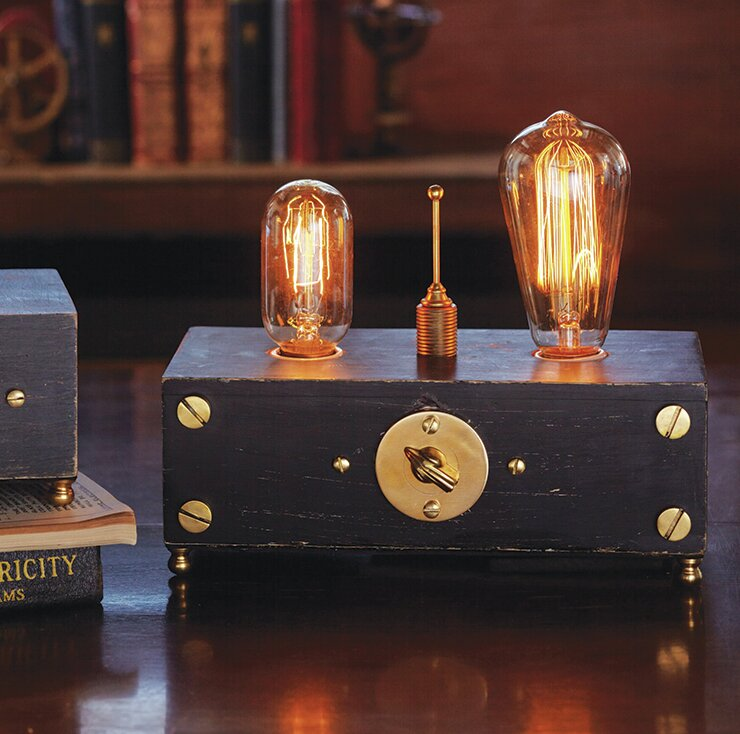 """Guild Electro 7"""" Table Lamp"""