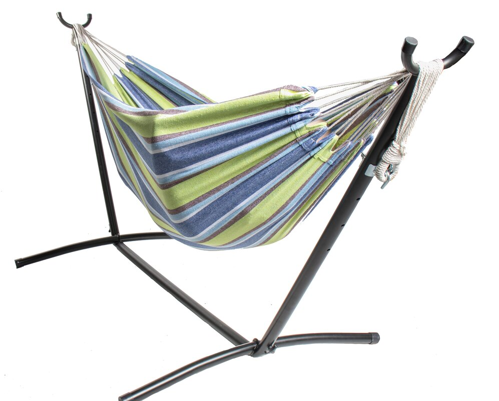 Rithland Double Camping Hammock with Stand