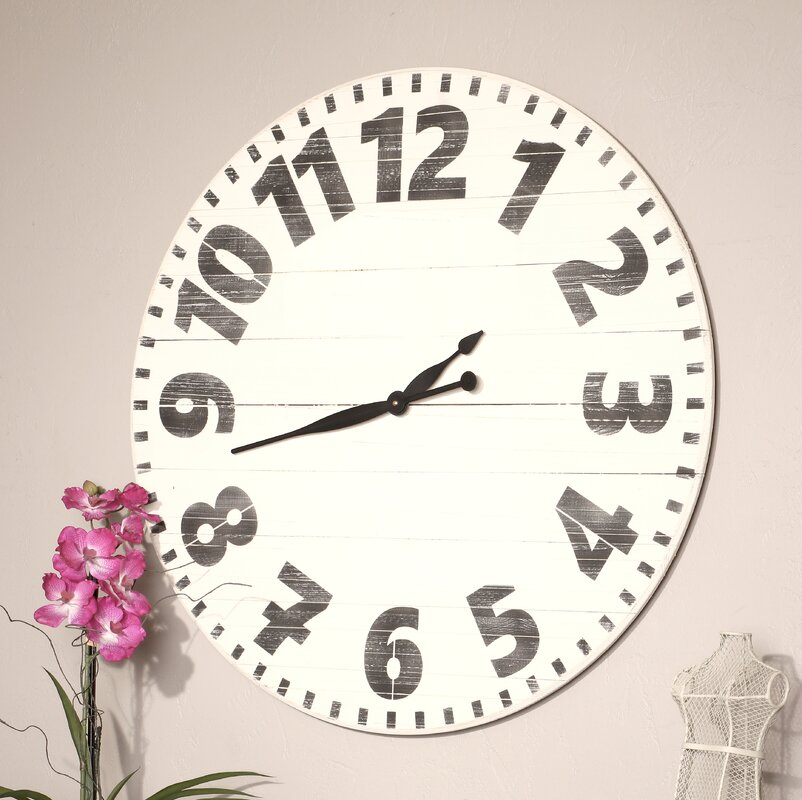 Oversized Cayenna Wall Clock