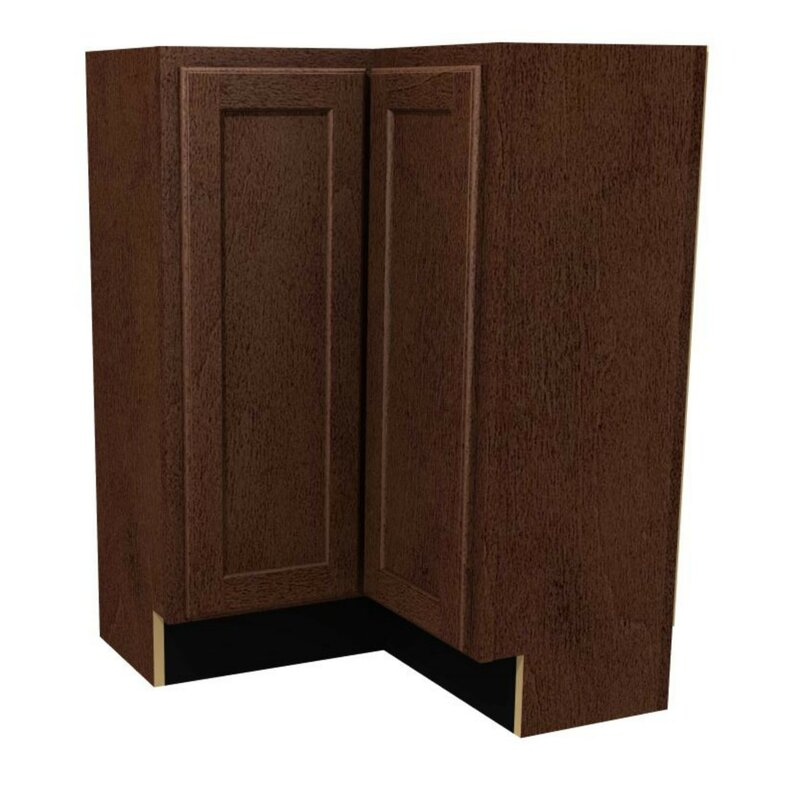"St. Clair High Base 36"" W Corner Cabinet"