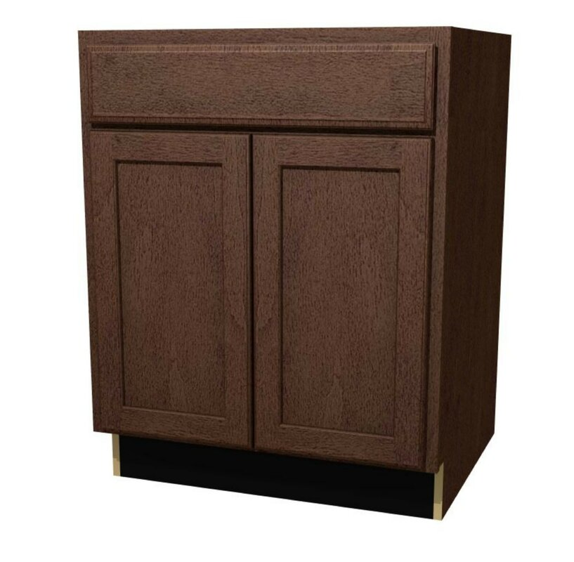 St. Clair Butt Doors Sink Base Cabinet