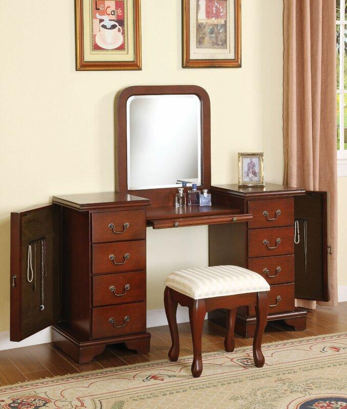 Epsom Vanity Set with Mirror