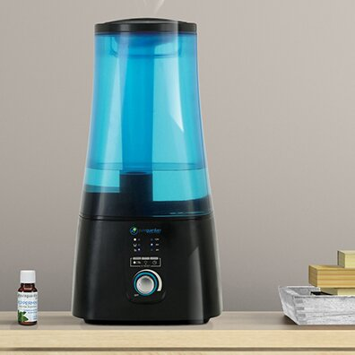 2 Gal. Warm and Cool Mist Ultrasonic Tabletop Humidifier