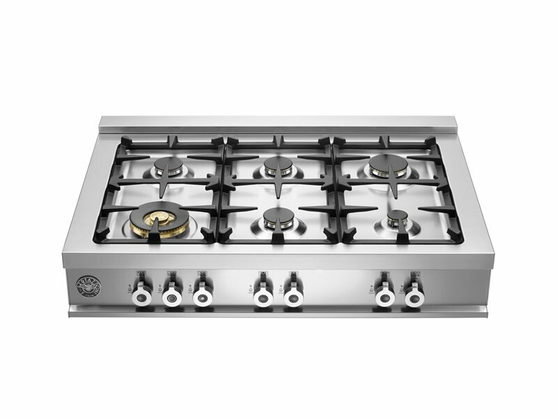 """Pro Series 36"""" Gas Cooktop with 6 Burners"""