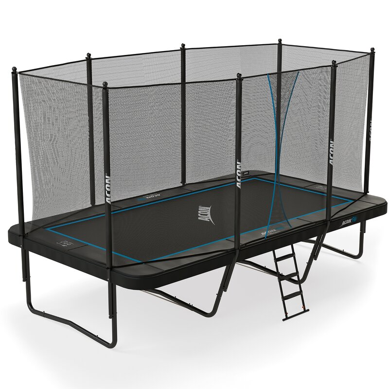 Air 16.4' Rectangular Trampoline with Safety Enclosure