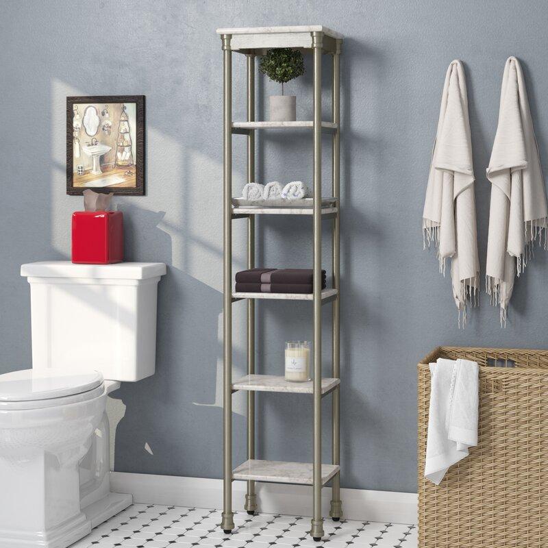"""Nauman 13"""" W x 60"""" H Bathroom Shelf"""