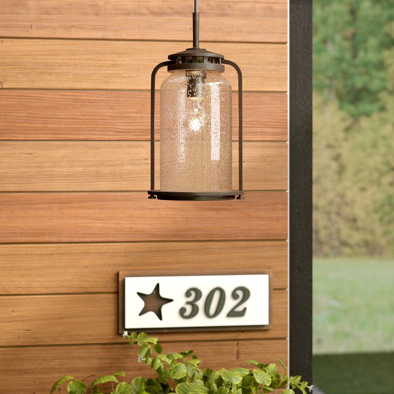 Millport 1-Light Outdoor Hanging Lantern