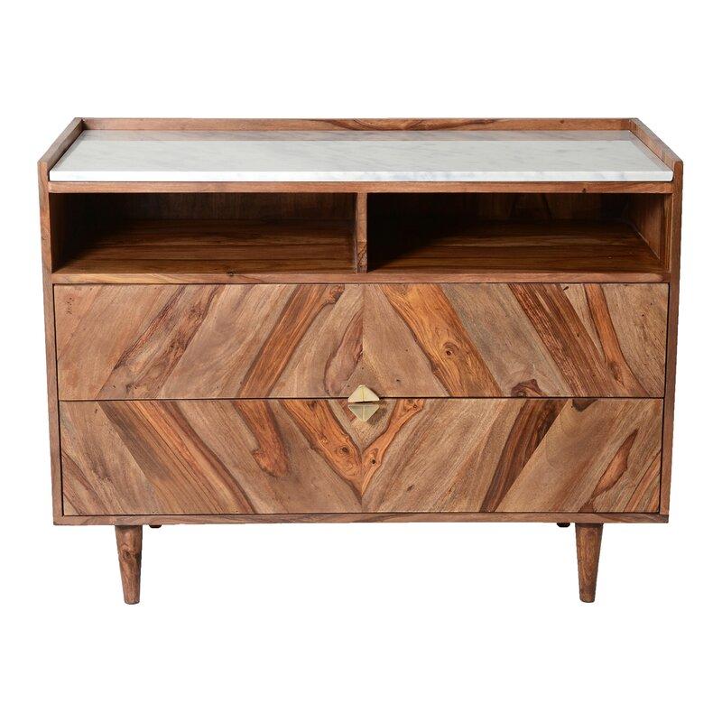 Patrica 2 Drawer Cabinet