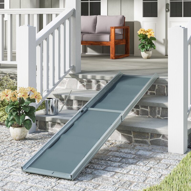 "Beckson Telescoping 87"" Pet Ramp"