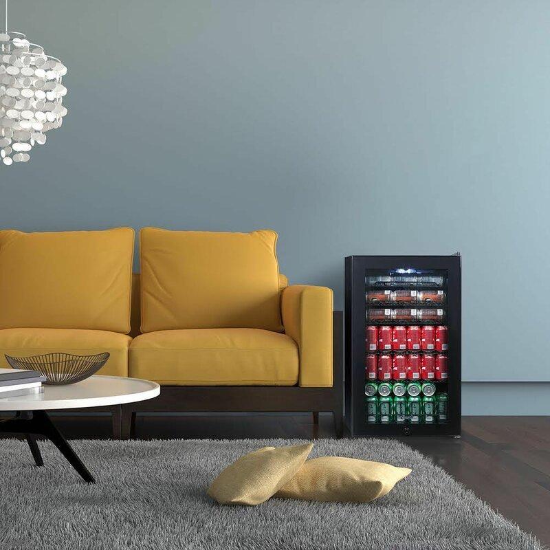 126 Can Freestanding Beverage Refrigerator