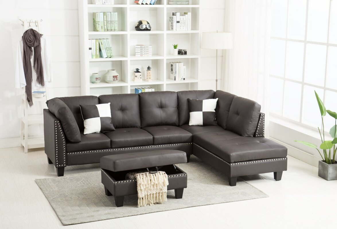 Sharmaine Sectional with Ottoman