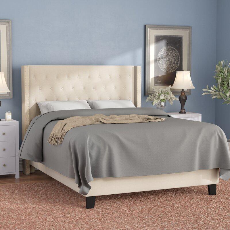 Konieczny Tufted Upholstered Platform Bed