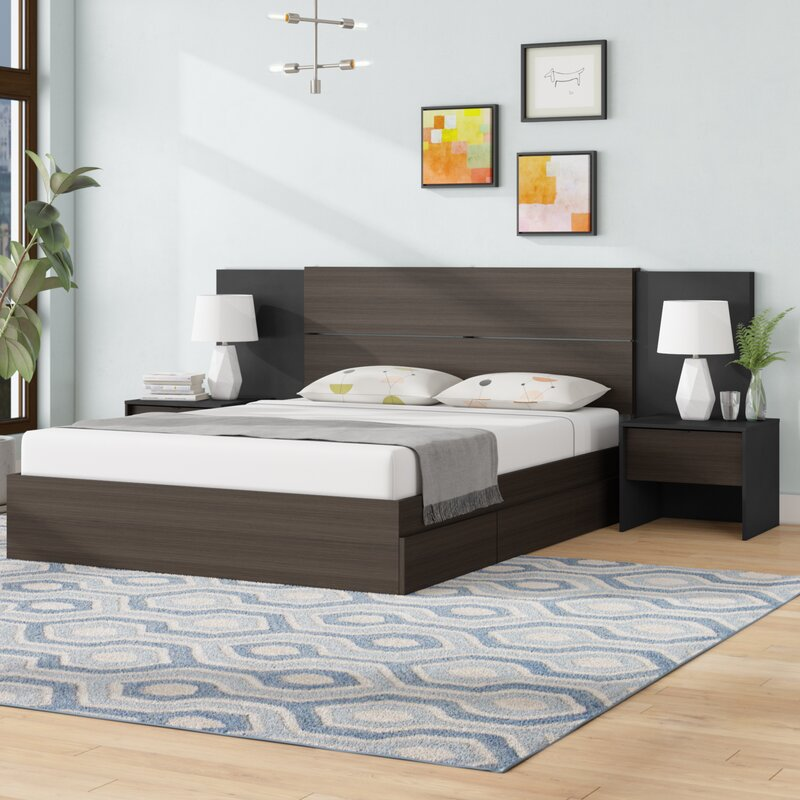 Mcintyre Platform 4 Piece Bedroom Set