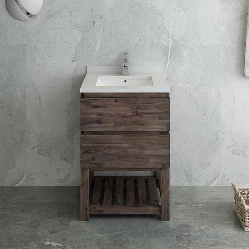 """Formosa 24"""" Single Bathroom Vanity Set"""
