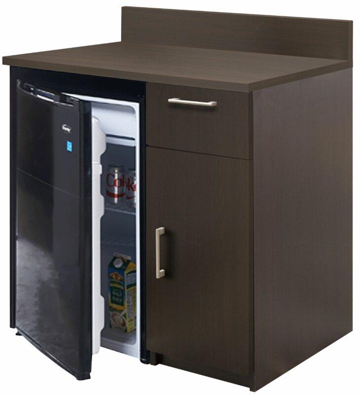 "Coffee Kitchen 36"" H x 36"" W Base Cabinet"