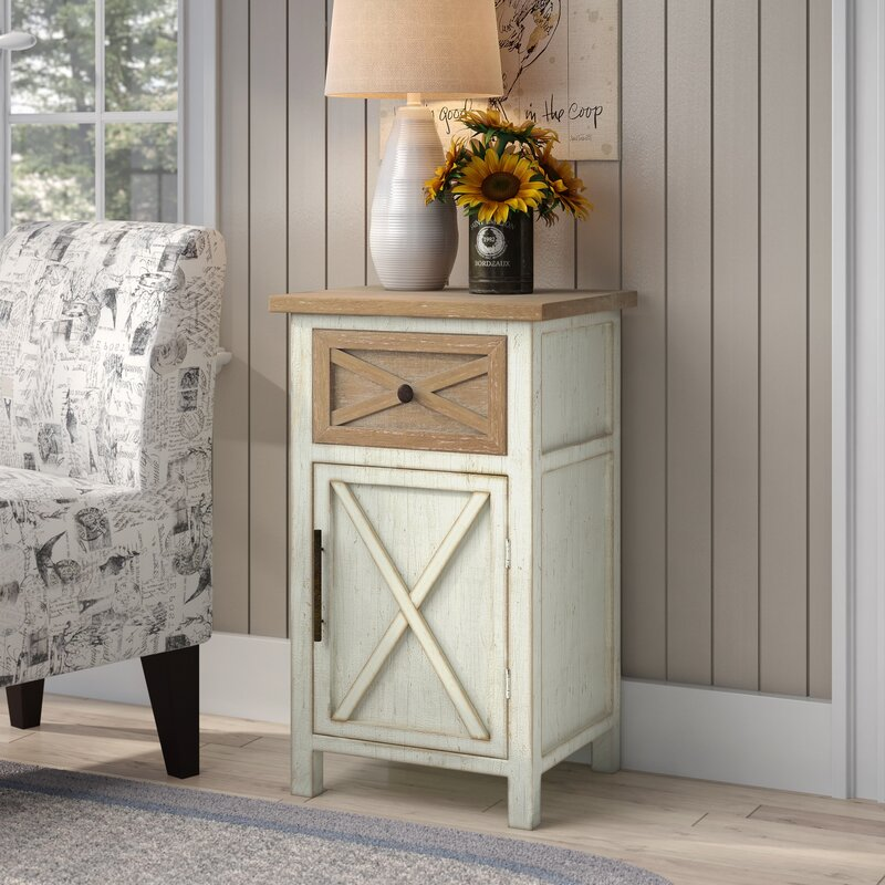 Sherryl 1 Drawer Accent Cabinet