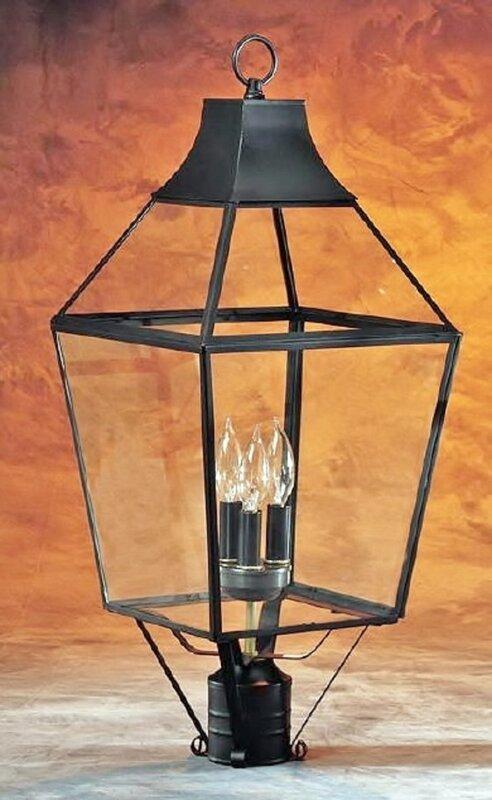 3-Light Post Lantern Head