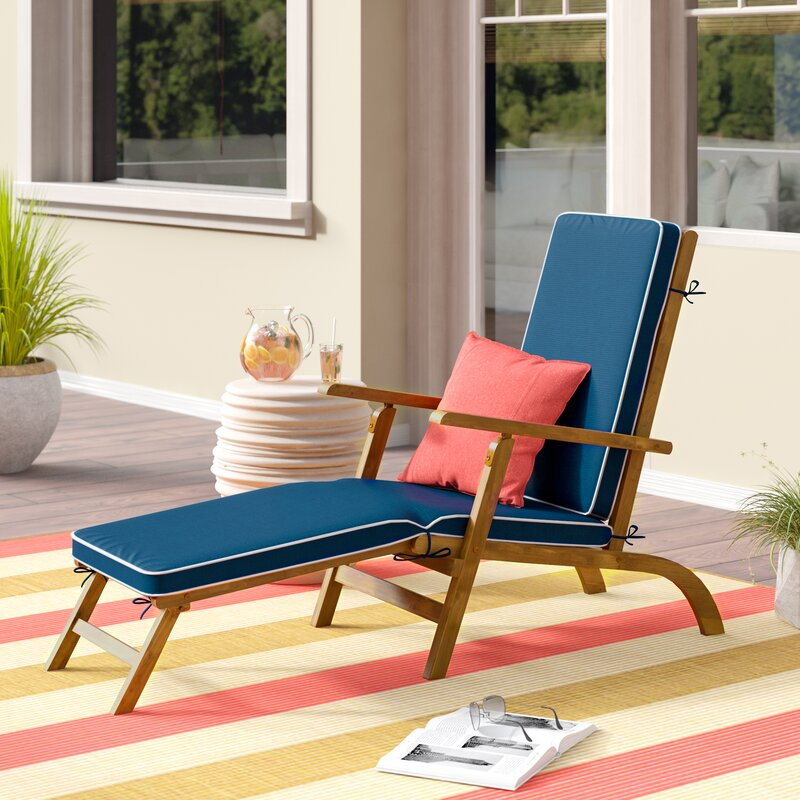 Barksdale Chaise Lounge with Cushion