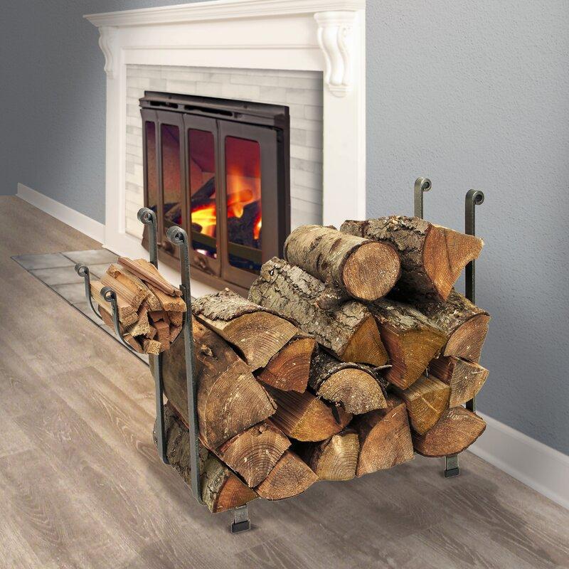 USA Handcrafted Rectangle Log Rack