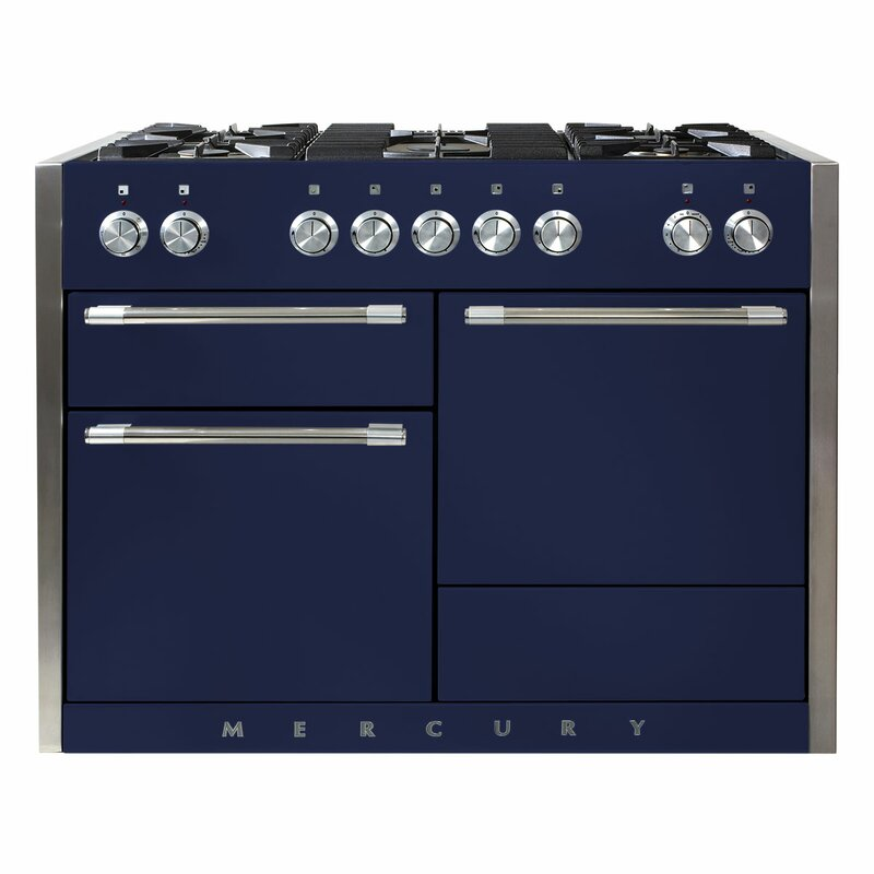 "Mercury 48"" 6 cu ft. Freestanding Dual Fuel Range"
