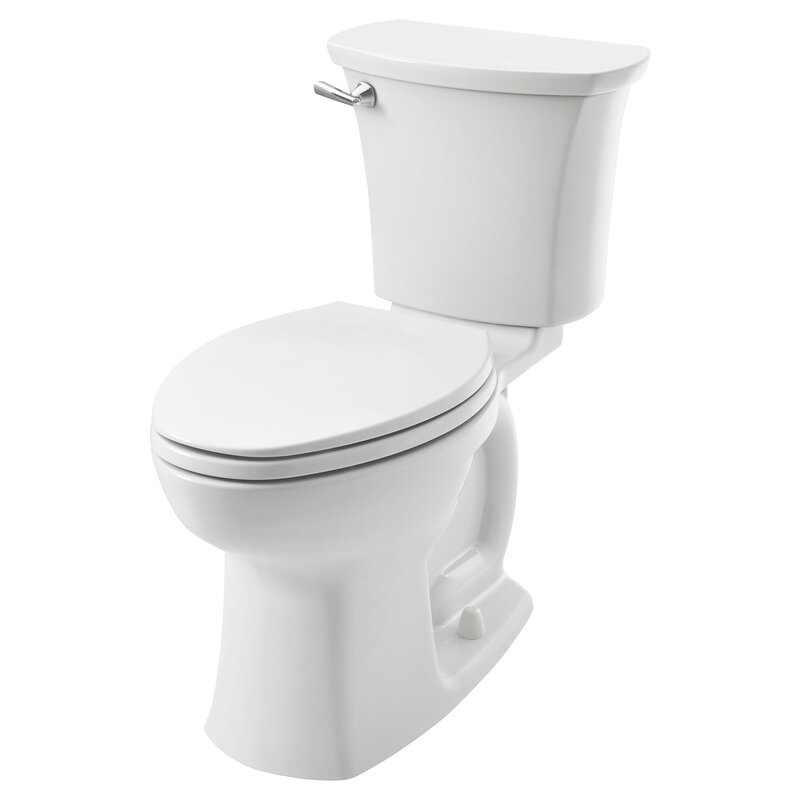 Edgemere 1.28 GPF (Water Efficient) Elongated Two-Piece Toilet (Seat Not Included)