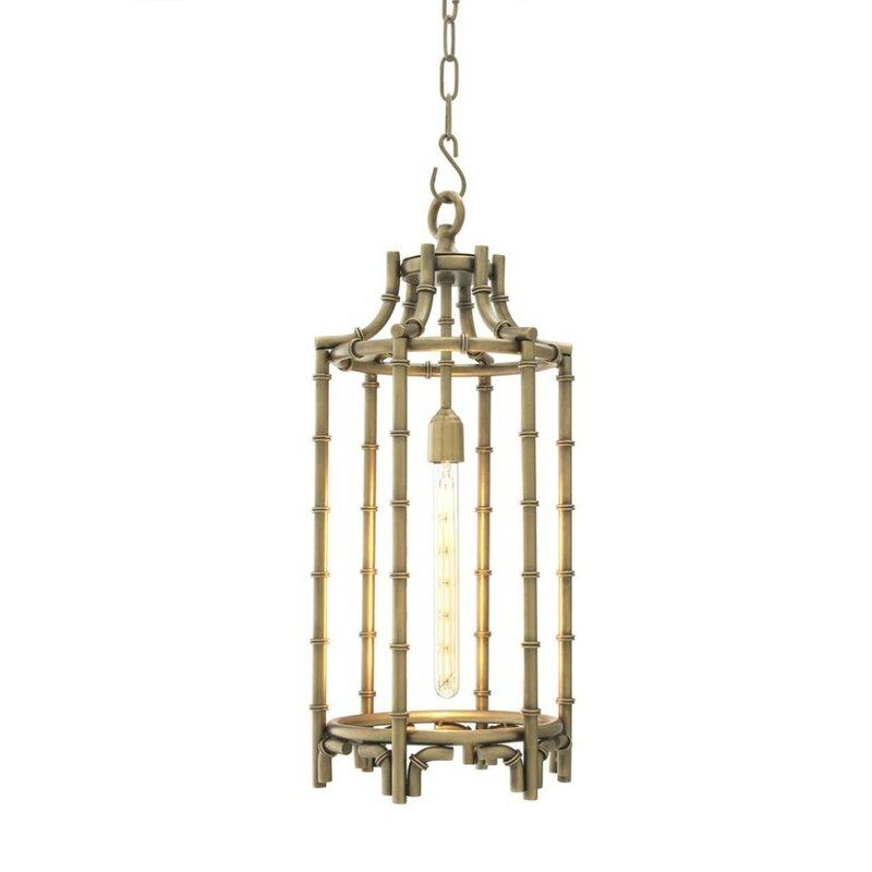 Vasco 1-Light Lantern Pendant
