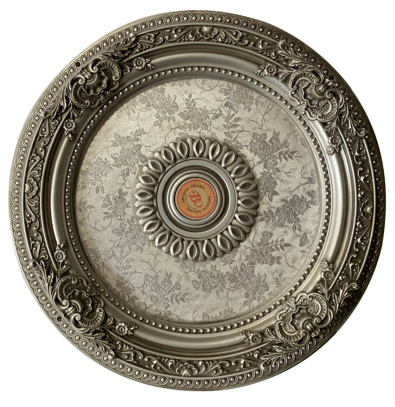 Antique Round Ceiling Medallion