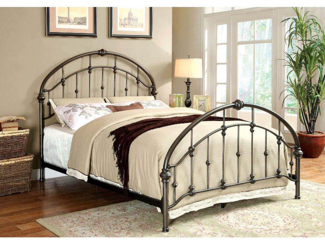 Laffey Queen Panel Bed