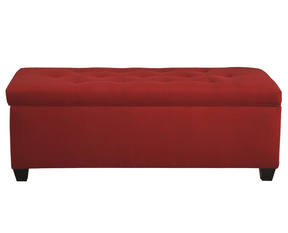 Laleia Button Tufted Upholstered Storage Bench
