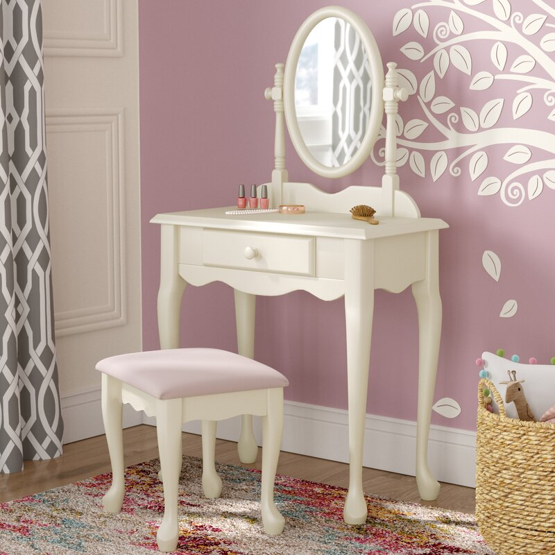 Bayly Vanity Set with Mirror