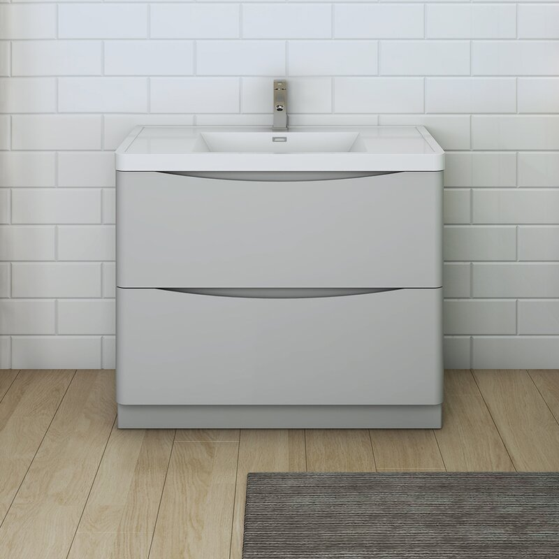 "Senza Tuscany 40"" Single Bathroom Vanity Set"