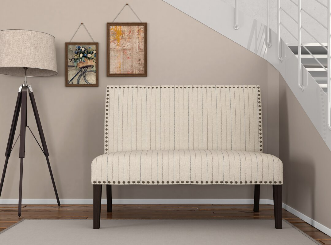 Block Upholstered Bench