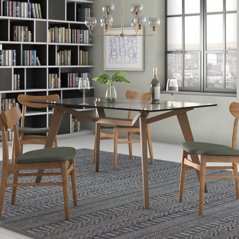 Lavinia Solid Wood Dining Table