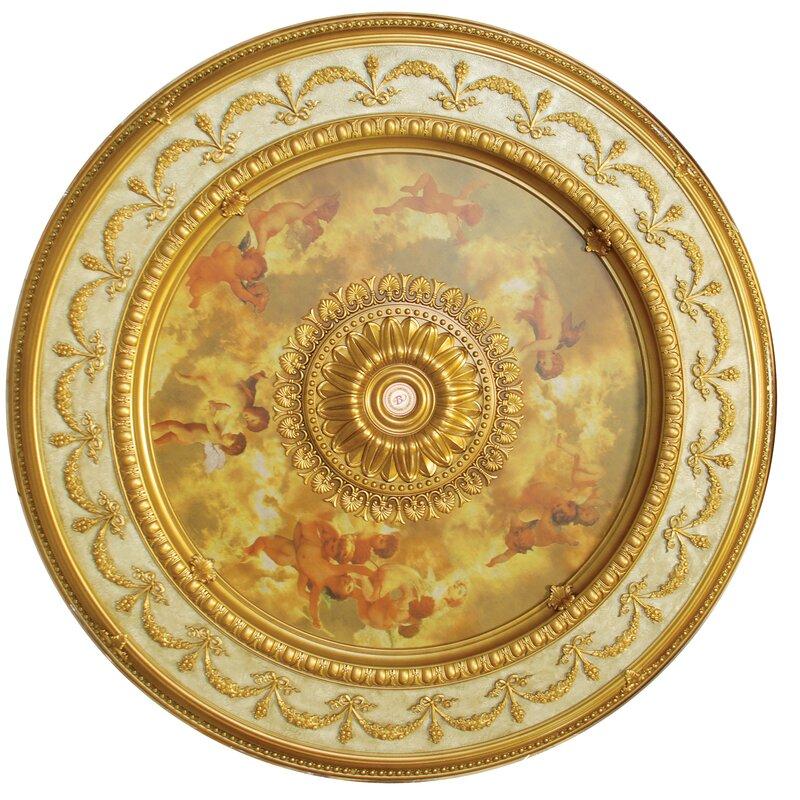 Sistine Round Chandelier Ceiling Medallion