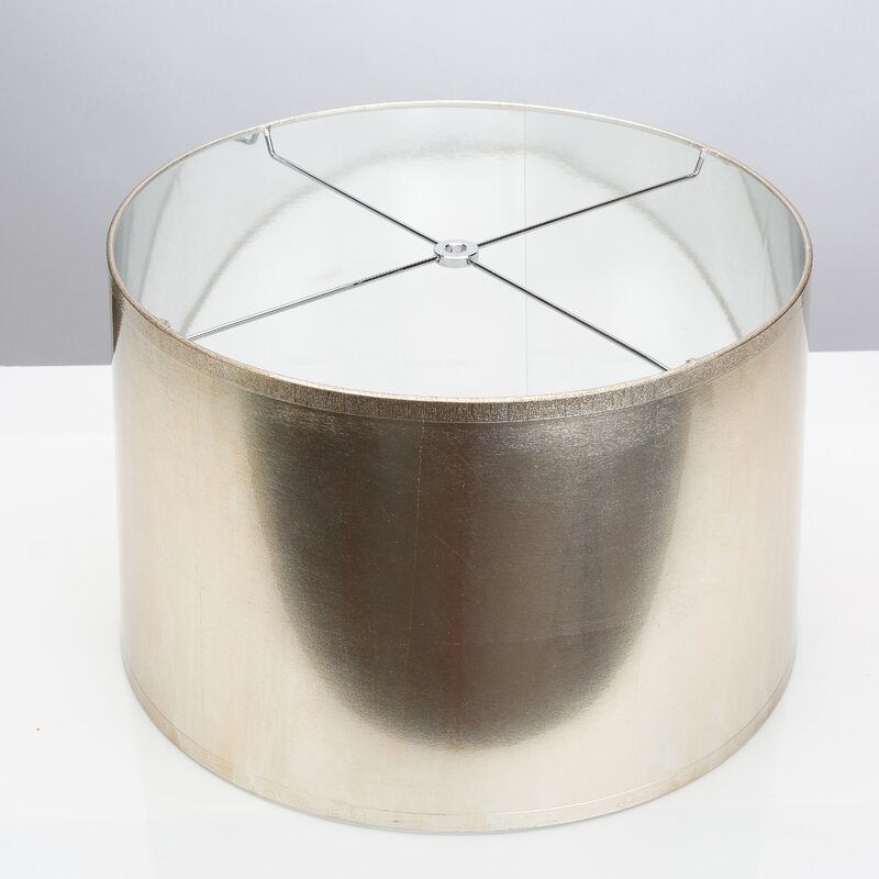 "17"" Acrylic Drum Lamp Shade"