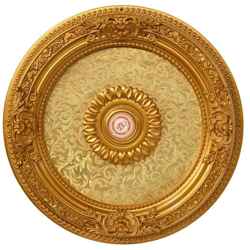 Dream Round Chandelier Ceiling Medallion