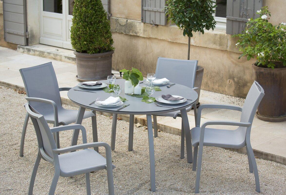 Leighann Metal Dining Table