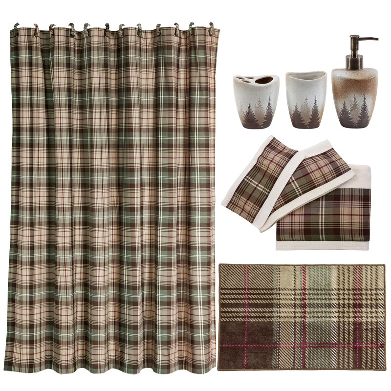 Huntsman 20 Piece Shower Curtain Set