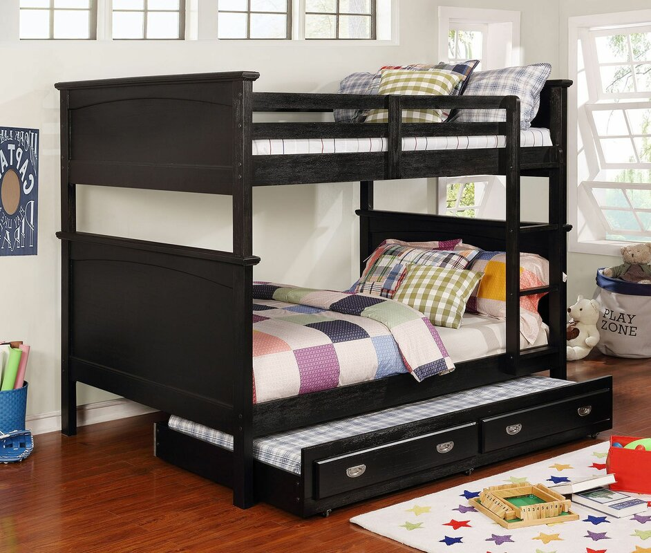 Miamisburg Full over Full Bunk Bed