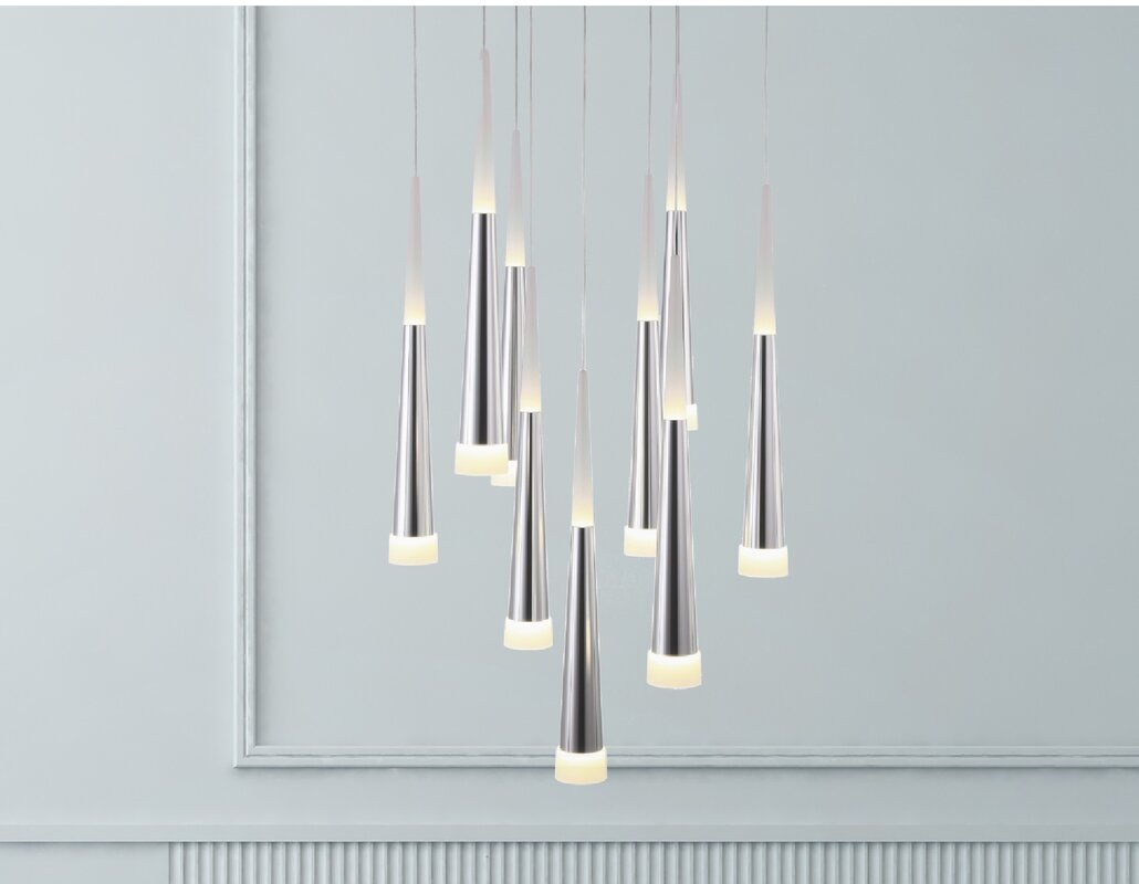 Bergeron 9-Light Cluster Pendant