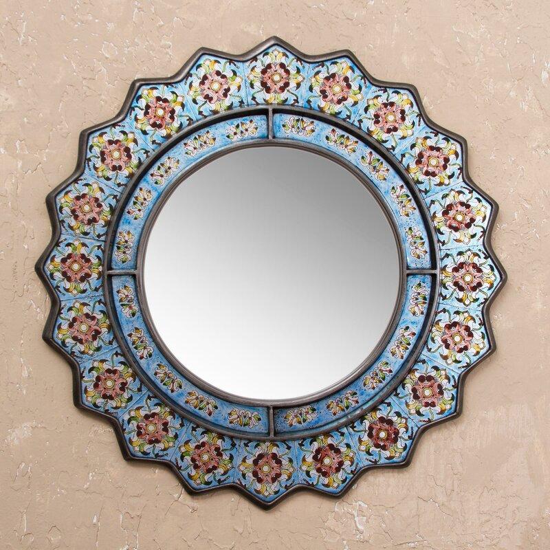Bluebells Modern & Contemporary Accent Mirror