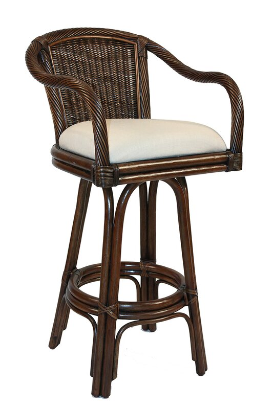 "Edgerly 24"" Swivel Bar Stool"