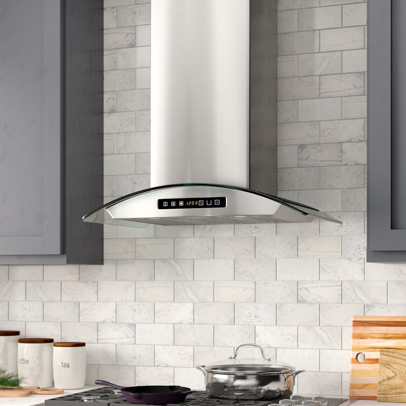 "30"" 380 CFM Convertible Wall Mount Range Hood"