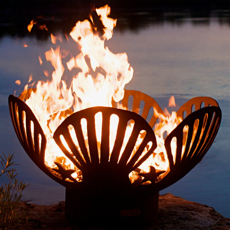 Barefoot Beach Bowl Steel Fire Pit