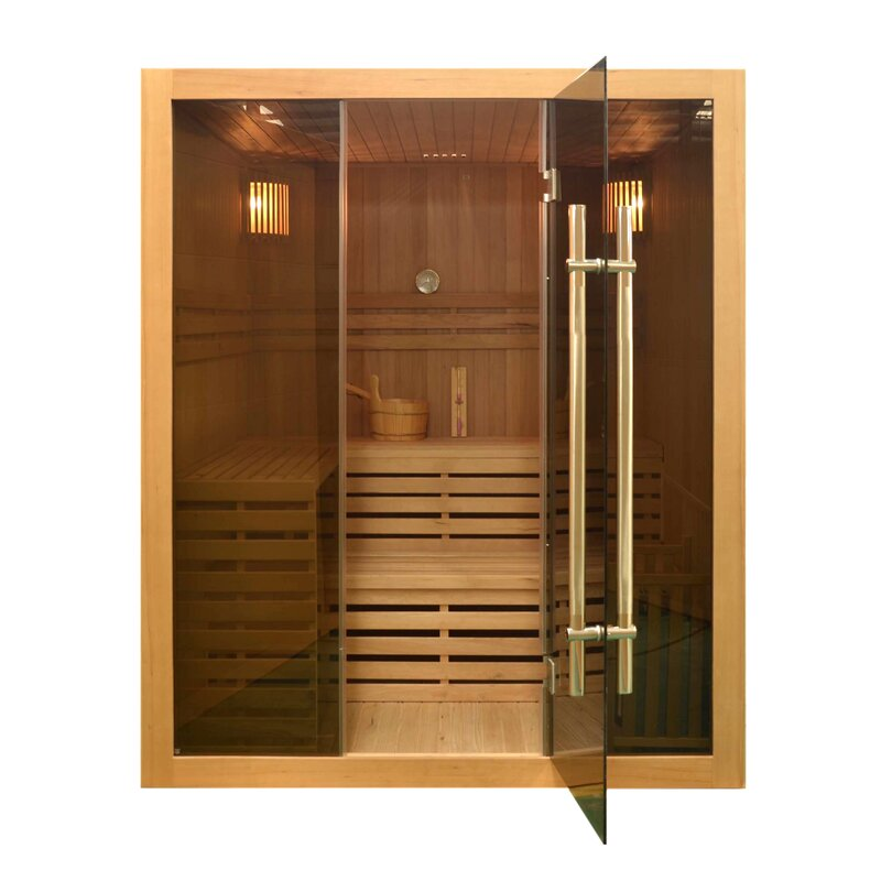 4 Person Traditional Steam Sauna